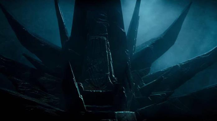 Il trono dei Sith in Star Wars: L'ascesa di Skywalker