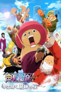 Poster One Piece: Il miracolo dei ciliegi in fiore