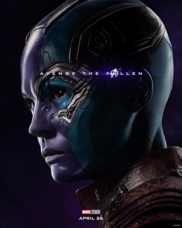 Avenger the fallen, i caduti: Nebula