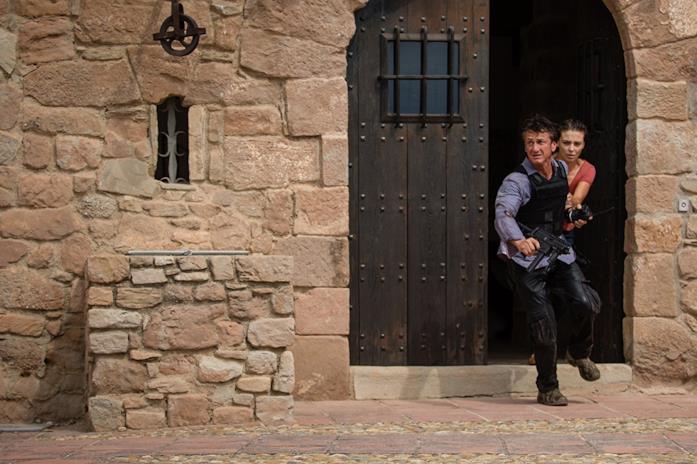 Sean Penn e Jasmine Trinca