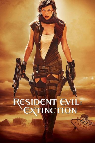 Poster Resident Evil: Extinction