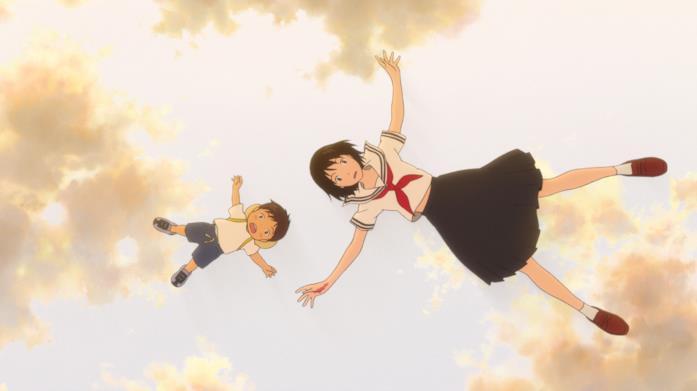Kun e Mirai viaggiano nel tempo