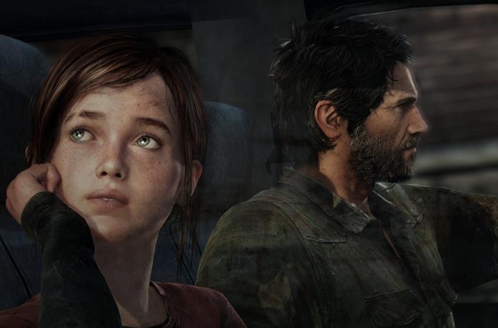 Ellie e Joel, protagonisti di The Last of Us
