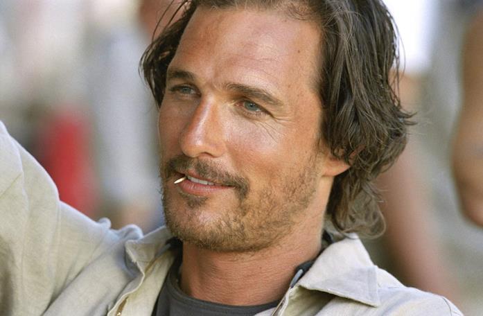 Matthew McConaughey in una scena del film Sahara