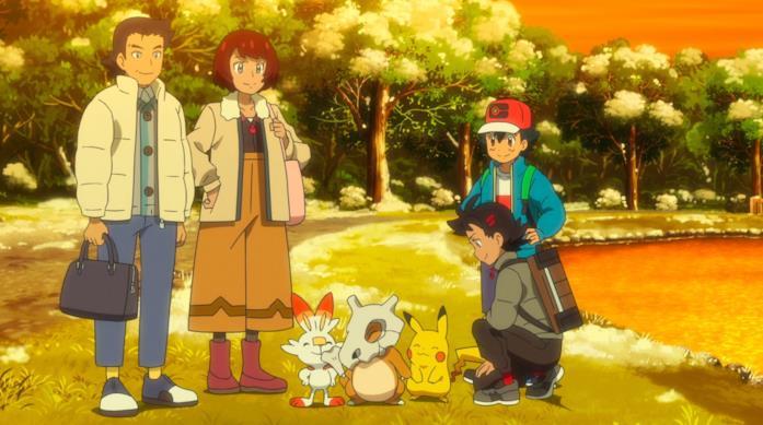 I genitori di Gō incontrano Ash Ketchum
