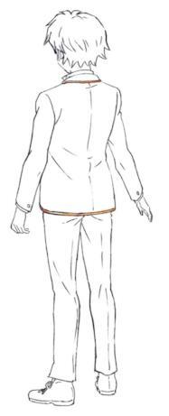 Towa opta per un look maschile e capelli corti nell'epoca moderna