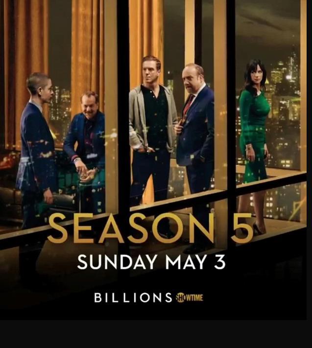Billions 5 - poster