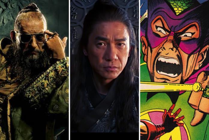 Il Mandarino nei fumetti e nei film Marvel Studios