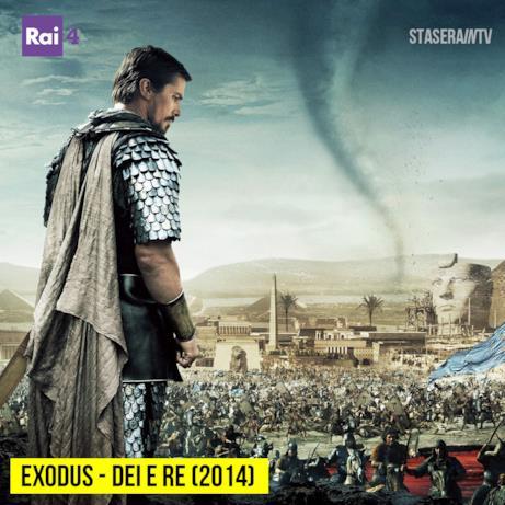 Stasera in TV alle 21:20 su Rai 4 Exodus - Dei e re