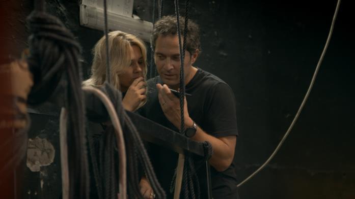Claudio Santamaria e Francesca Barra in Celebrity Hunted