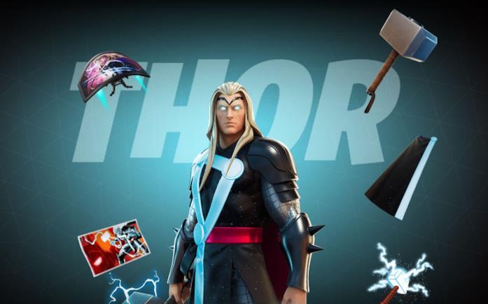 Immagine promozionale del costume di Thor in Fortnite