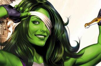 Un'illustrazione di She-Hulk