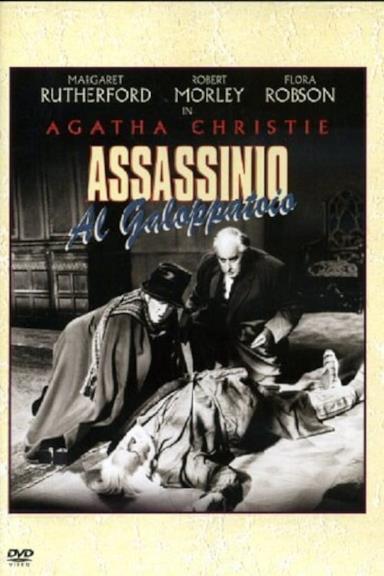 Poster Assassinio al galoppatoio