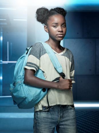 Saniyya Sidney interpreta la piccola Amy Bellafonte, la bambina che potrebbe salvare il mondo dall'epidemia in The Passage