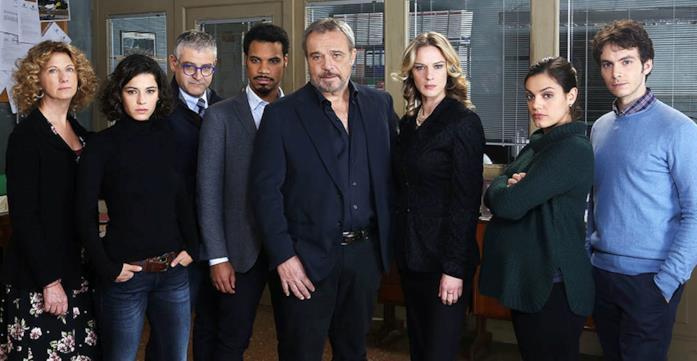 Il cast di Nero a metà, prima stagione
