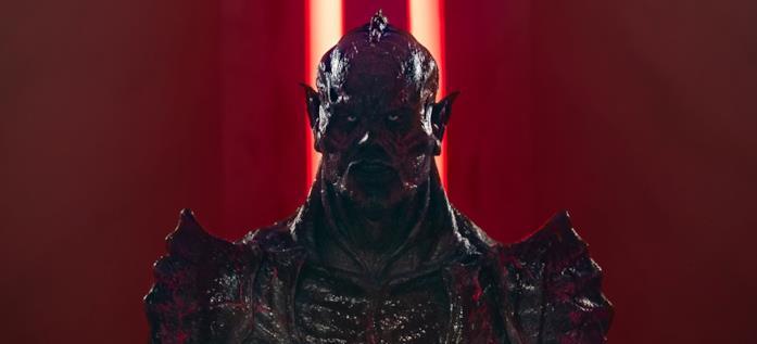 Il trucco dell'alieno Psycho Goreman nel film di Steven Kostanski