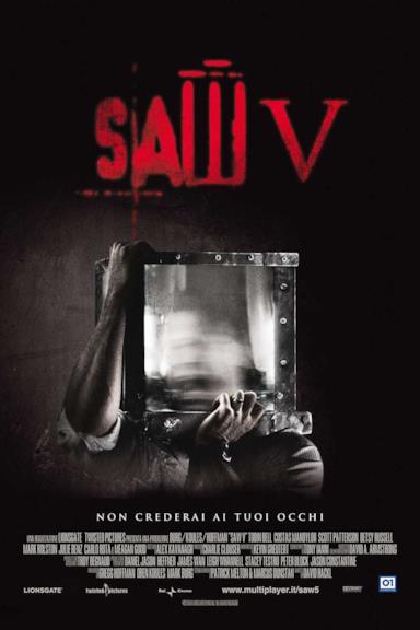 Poster Saw V - Non crederai ai tuoi occhi