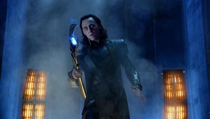 Un'immagine di Loki in The Avengers
