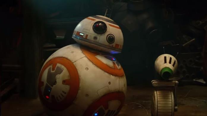 I droidi di Star Wars BB-8 e D-0