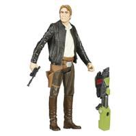 Star Wars Il Risveglio della Forza Han Solo Action Figure, 9,4 cm