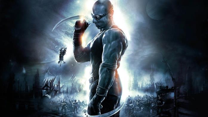 Vin Diesel porta in scena il personaggio di Riddick