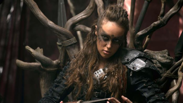 Una foto di Lexa interpretata da Alycia Debnam-Carey