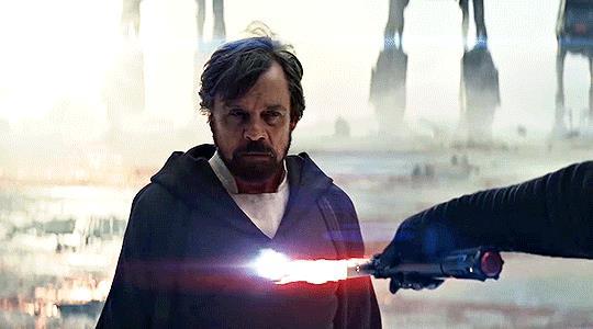 Una scena di Star Wars IX