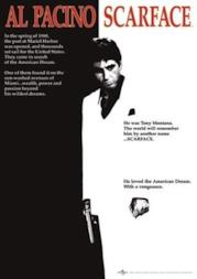 Scarface Maxi Poster Movie Score Al Pacino - 61 x 91,5 cm
