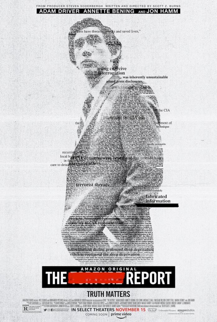 Il poster di The Report
