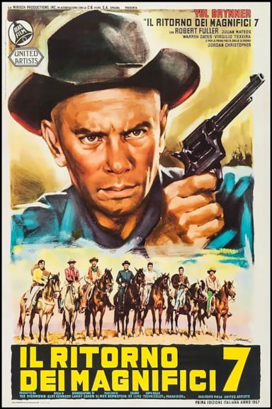 Poster Il ritorno dei magnifici sette