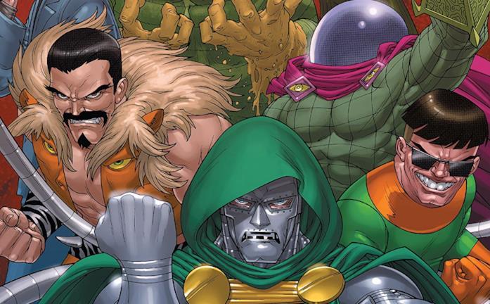 Dettaglio della cover di Doctor Doom and the Masters of Evil #1