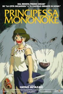 Poster Principessa Mononoke