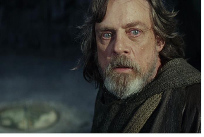 Luke Skywalker anziano