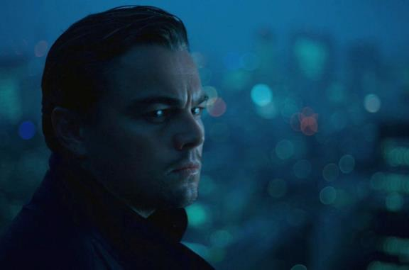 Leonardo DiCaprio in una scena del film inception