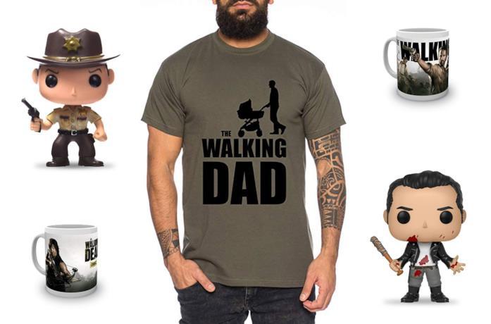 Funko Pop Rick e Negan, t-shirt e tazze a tema The Walking Dead