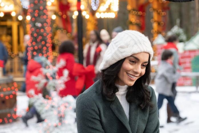 Brooke, protagonista di Un cavaliere per Natale