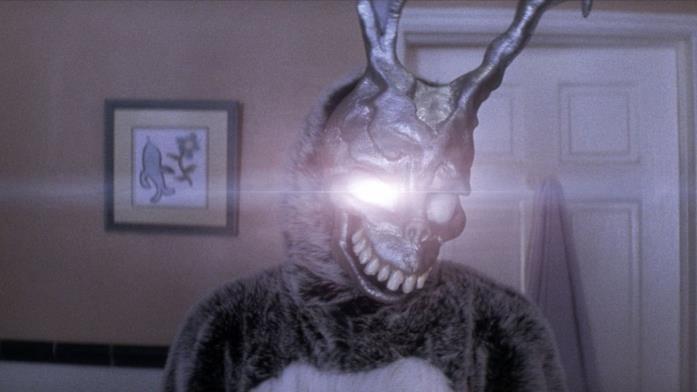 James Duval interpreta Frank, il coniglio antropomorfo di Donnie Darko
