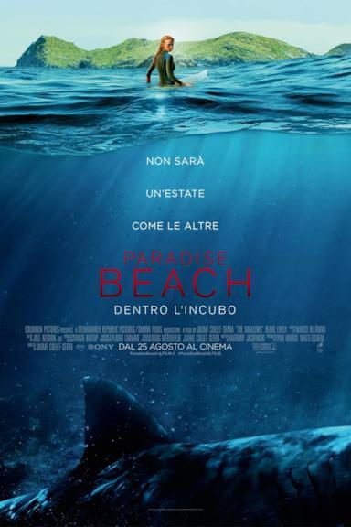 Poster Paradise Beach - Dentro l'incubo