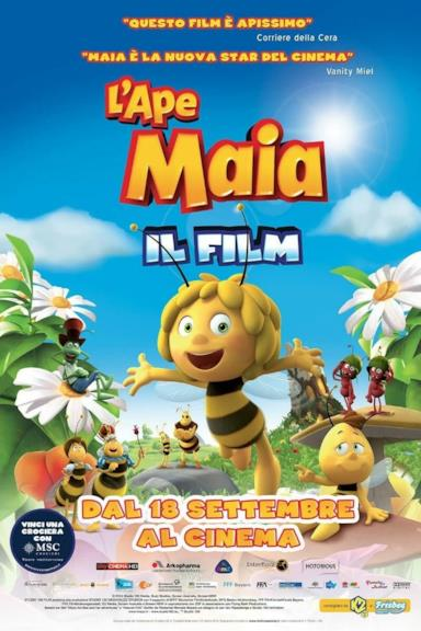 Poster L'ape Maia - Il film