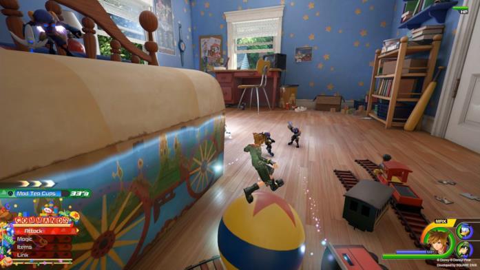 Sora nel mondo di Toy Story in Kingdom Hearts 3