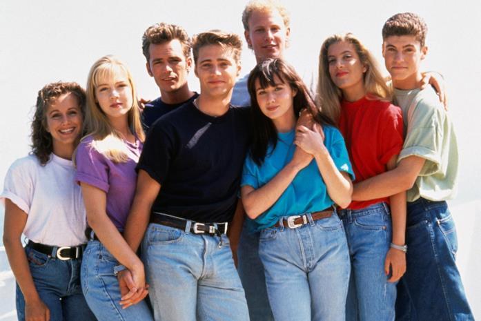 Un'immagine promozionale da Beverly Hills 90210