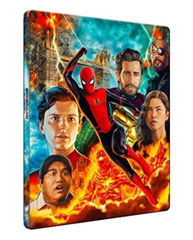 Spider-Man: Far From Home  (Steelbook Blu-Ray + Bonus Disc Blu-Ray)  (2 Blu Ray)