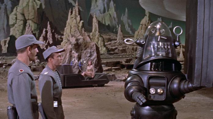 Robby è il robot de Il Pianeta Proibito