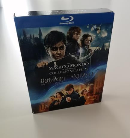 Slipcase del boxset da 9 film di Harry Potter