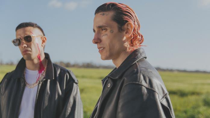 Enrico Borello e Andrea Carpenzano in una scena del film Lovely Boy