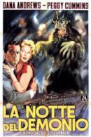 Poster La notte del demonio