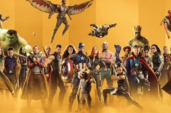 I protagonisti dell'universo cinematografico Marvel
