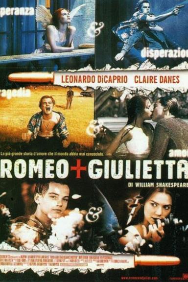 Poster Romeo + Giulietta di William Shakespeare