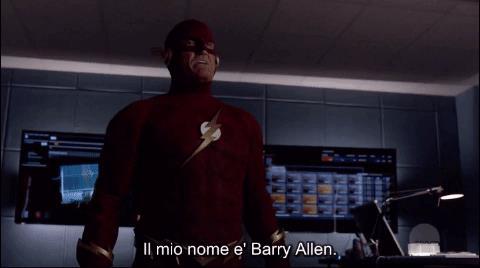 Barry Allen di Terra-90 svela che John Diggle è Lanterna Verde in un'altra realtà