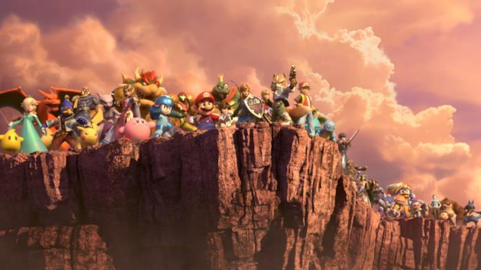 I protagonisti di Super Smash Bros. Ultimate